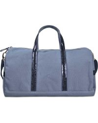 Vanessa Bruno - Sequins And Canvas Gym Bag - Lyst