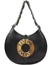 Loewe - Joyce Embellished Leather Shoulder Bag - Lyst
