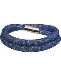 Swarovski - Stardust Deluxe Double Bracelet - Lyst