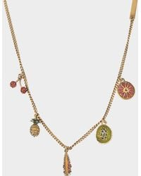 Marc Jacobs - Tropical Charm Necklace - Lyst