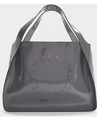 Stella McCartney - Falabella Tote In Black Synthetic Material - Lyst