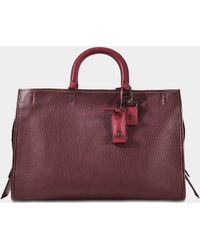 COACH - Glovetanned Pebble Leather Rogue 39 - Lyst
