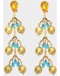 Aris Geldis - Triple Dome Earrings - Lyst