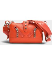 KENZO - Kalifornia Mini Shoulder Bag In Red Calfskin - Lyst