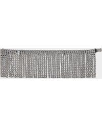 Marc Jacobs - River Bracelet In Antique Silver Brass And Crystal - Lyst