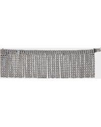 Marc Jacobs - Bracelet river en cristal et laiton argent vieilli - Lyst