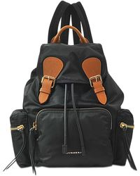 Burberry - Medium Prorsum Rucksack In Black Nylon - Lyst