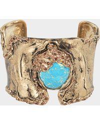 Roberto Cavalli - Glam Stone Bracelet - Lyst
