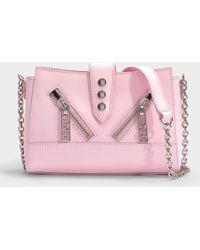 KENZO - Kalifornia Mini Shoulder Bag In Black Calfskin - Lyst