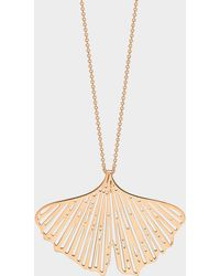 Ginette NY - Gingko On Chain Necklace - Lyst