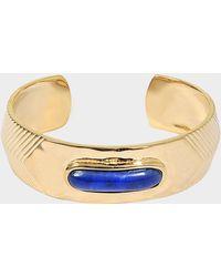 Aurelie Bidermann - Peggy Bracelet With Lapis Lazuli - Lyst