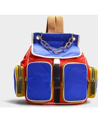 Marni - Carry All Backpack In Multicolour Nylon - Lyst