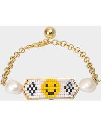Shourouk - Bracelet Moodz Pearl Smile - Lyst