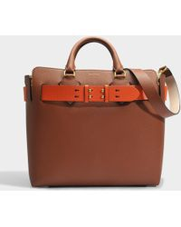 Belt Bag Medium in Tan Marais Leather Burberry YagOcE