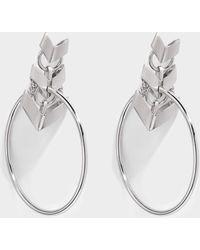 Roberto Cavalli - Aella Round Earrings - Lyst
