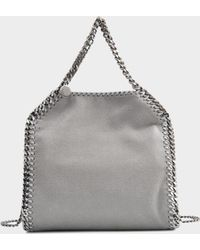 Stella McCartney - Falabella Minibella Shaggy Deer Bag - Lyst