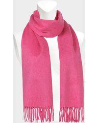 Eric Bompard - Classic Scarf In Pink Romance Cashmere - Lyst