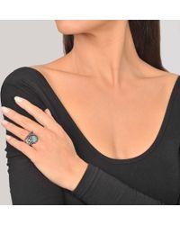 Voodoo Jewels - Sigillum Silver Ring - Lyst