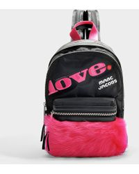 Treck Pack Fur Love Medium backpack Marc Jacobs dBaMy