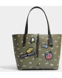 COACH - Multi Patches Spooky Eyes Print Market Tote - Lyst