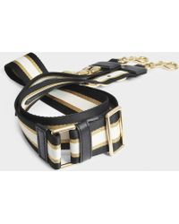Marc Jacobs - Metal Chain Guitar Strap Bag In Black Multi Polyester - Lyst