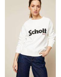 Schott Nyc - Sweatshirt - Lyst