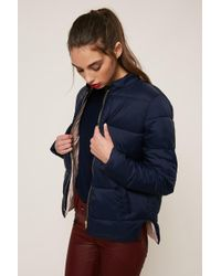 Numph - Quilted Jacket - Lyst
