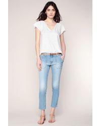Ba&sh - Straight-leg Jeans - Lyst