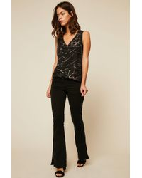 Acquaverde - Flared Jeans - Lyst