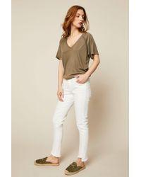 IKKS - 7/8-length Jeans - Lyst