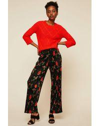 Vila | Straight-cut Trousers | Lyst