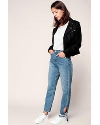 Lost Ink - High-waisted Jeans - Lyst