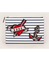 Karl Lagerfeld - Clutches / Evening Bags - Lyst