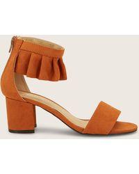Vero Moda - Sandal Mid-heel - Lyst