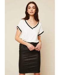 IKKS - High-waisted Skirt - Lyst