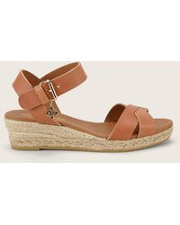 5919c7f33 Tommy Hilfiger. Womens Tommy Navy Mid Wedge Slides.  58. TOWER London · KG  by Kurt Geiger - Wedges - Lyst