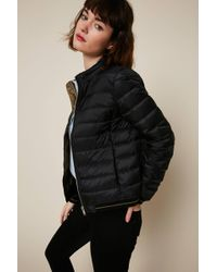 IKKS - Quilted Jacket - Lyst