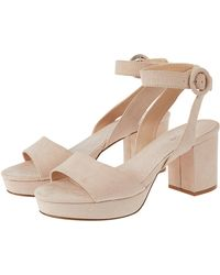 ccadb0eb8 Monsoon Blossom Bridesmaid Sandals in Natural - Lyst