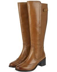 6fd2990615624a Sam Edelman Long Velvet Adjustable Boots in Gray - Lyst
