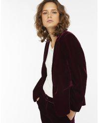 Monsoon - Louise Velvet Jacket - Lyst