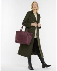 Monsoon - Louisa Leather Shopper Bag - Lyst