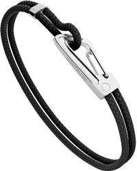 Montblanc - Steel Woven Bracelet - Lyst
