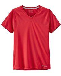 d8e649b08bfe2c Lyst - Patagonia Windchaser Sleeveless Shirt in White