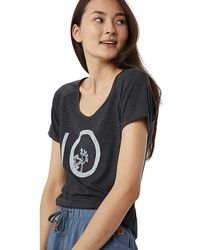 Tentree - Vintage T-shirt (icy Morn) Women's T Shirt - Lyst