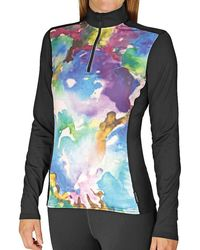Hot Chillys - Mtf4000 Sublimated Print Zip-t - Lyst
