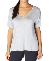 Beyond Yoga - Roll The Slice Tee - Lyst