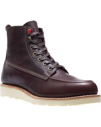 14cfd76cda2c Lyst - Wolverine Louis Wedge Boot in Brown for Men