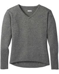 Smartwool - Shadow Pine V-neck Sweater - Lyst