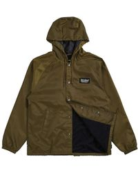 Lyst - Brixton Palmer Hooded Jacket in Green for Men a97f9a0d346