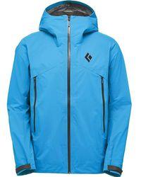 0cfe8d4484bd Lyst - Black Diamond Approach 1 4-zip Fleece Jacket in Green for Men